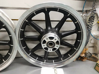 """Front Mag Wheel 3.00x16 1"""" Harley Touring 2000^ Ultra Classic Road King Glide FL"""