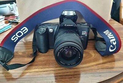 Canon EOS Rebel XS 35mm Camera with 30-80mm lens