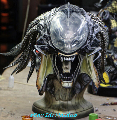 1/1 PREDALIEN Bust Predator&Alien Head Resin Model GK Collections Gifts New