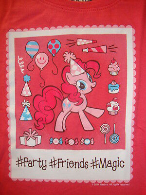 """Old Navy/  My Little Pony """"birthday Party"""" Graphic Tee Shirt Nwt :"""