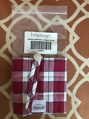 Longaberger Handle Gripper - Picnic Plaid