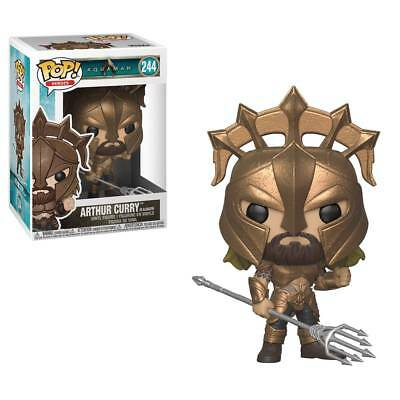 New In Box! Pop Dc Heroes Arthur Curry As Gladiator Vinyl Figure