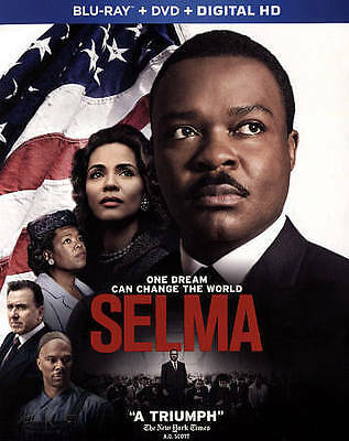 Selma (Blu-ray/DVD, 2015, 2-Disc Set) Oprah Winfrey David Oyelowo
