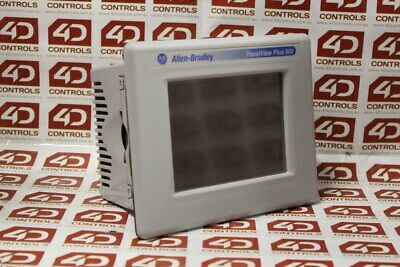 Allen Bradley 2711P-T6C8D PanelView Plus 600 Color - Used - Series B