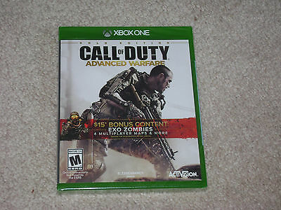 Call Of Duty Advanced Warfare Gold Edition...xbox One...***sealed***new***!!!!!