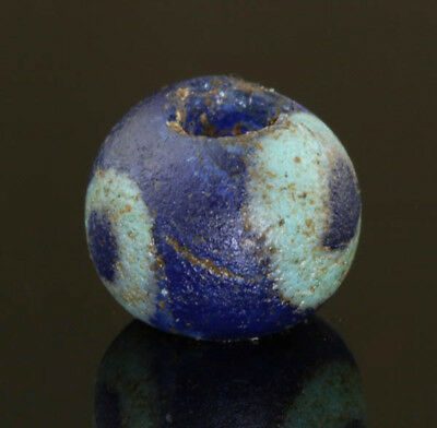 Ancient glass beads: Hellenistic eye bead, 3-1 century BC