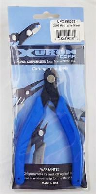 """XURON 2193 Hard Wire Micro-Shear Cutter for Wire up to 0.04"""" (18 AWG)"""