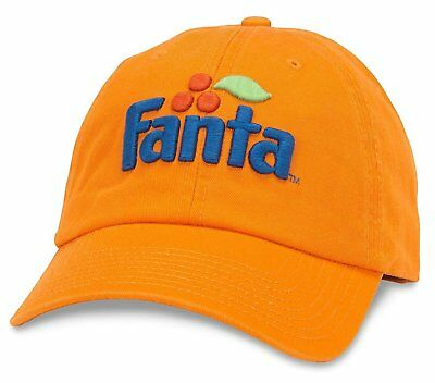 cf21fed9667 American Needle Fanta Ballpark Slouch Curved Brim Adjustable Hat Orange