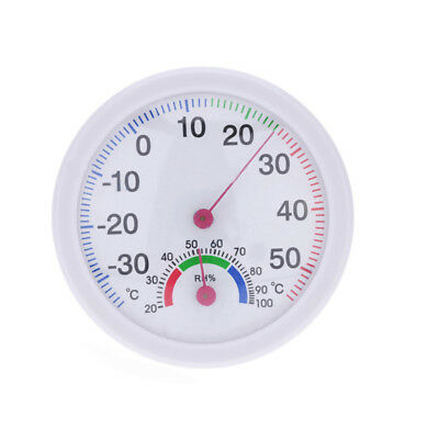 Analog Humidity Gauge Hygrometer Modern Indoor Thermometer Temperature Meter