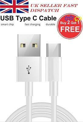 Fast Samsung Galaxy S9 S9+ S8 Plus Note Type C USB-C Sync Charger Charging Cable