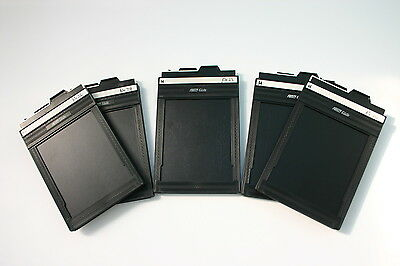 "Fidelity Elite 4X5"" Double Dark Slide"