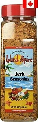 Island Spice Jerk Seasoning Product of Jamaica, Restaurant Size, 32 oz