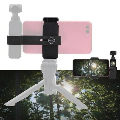 Extended Mount Bracket w/ Phone Clip Holder For DJI OSMO Pocket Accessories Kit