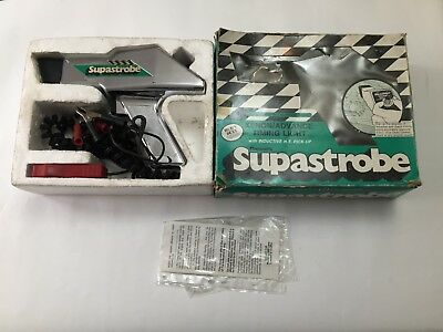 Gunson's Supastrobe Timing Light Boxed with Papers