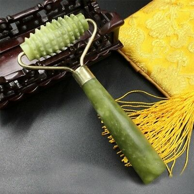 Ancient Face Body SPA Massage Roll Facial Massager Jade Beauty Stone Anti-aging