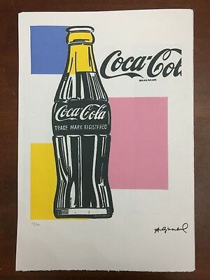 Andy Warhol Lithographie 57 x 38 Arches Timbre Sec Châteaux D'israël AN244