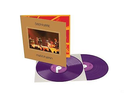 Deep Purple Made in Japan Limited Edition Purple Colored Vinyl 2 LP