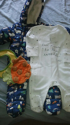 Small bundle of baby boy's clothes 0-3 months EXCELLENT CONDITION 3 items