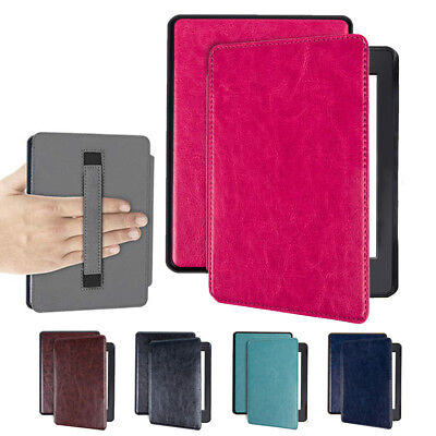 NEW For Kindle Paperwhite 4 Gen 10 Case With Hand Strap + Auto Smart Awake Cover