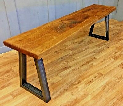 Reclaimed Industrial A Frame Bench Vintage Farmhouse Antique Bespoke Benches
