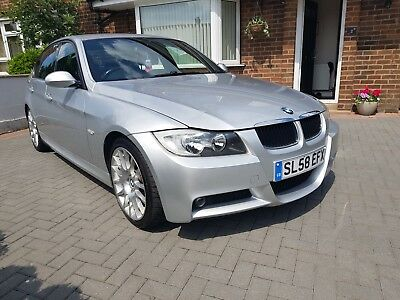 BMW 3 SERIES 318i Edition M Sport 2008 Petrol Manual in Silver-FSH-lady owner