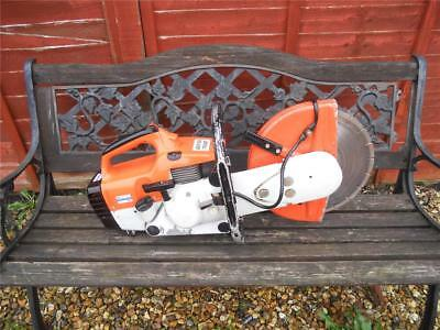 stihl ts400 disc cutter cut off saw GOOD USED CONDITION runs great LOOK!