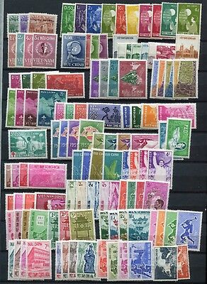 (JA550) Vietnam MNH stamps collection 3 pages VF