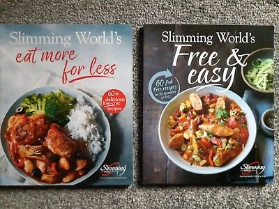 Brand New Slimming World Recipes Books. Eat More For Less and Free and Easy.