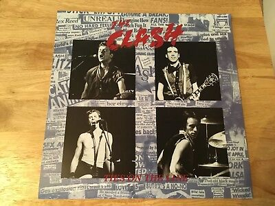 "The Clash - Ties On The Line - Rare UK ""Unofficial"" Re-Issue - 12"" LP"