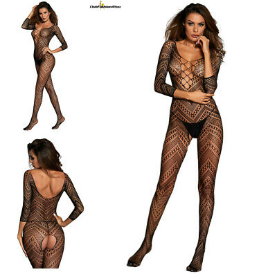 Hot Reizwäsche Fishnet Body Stocking Catsuit Netz Body Unterwäsche |H| 790070-2