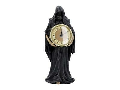 """FANTASTIC """"FINAL HOUR"""" REAPER CLOCK by NEMESIS NOW NEW & BOXED28.5cm"""