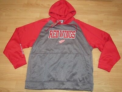 Detroit Red Wings Pullover Therma Hoodie Jacket size Men's 2XL