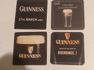 Lot de 4 Sous-bocks - Guinness