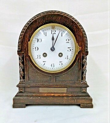French Chiming Mantel Carriage Clock Circa 1928