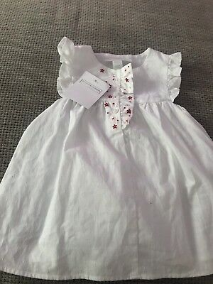 The Little White Company White Dress Size 0-3