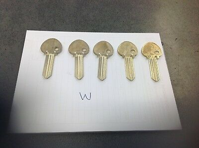 ingersoll key blanks  pack off  5    W  section