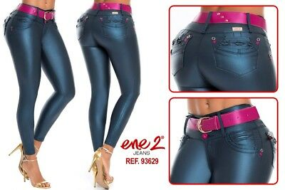 1a1ae2ec90e89 Ene2 Jeans Colombianos Authentic Colombian Push Up Jeans Levanta Cola Butt  Lift