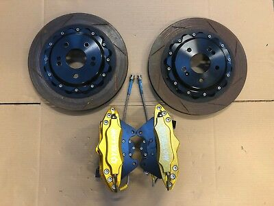 Yellow Speed Racing Rear Brake Kit For Honda Civic Fk2 Type R 356Mm 2015-17 *uc*