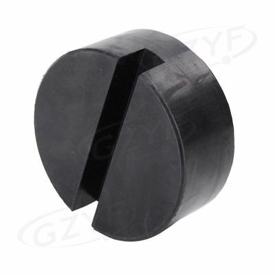 Universal Rubber Auto Car Slotted Frame PINCH-POINT Jack Disk Pad Adapter
