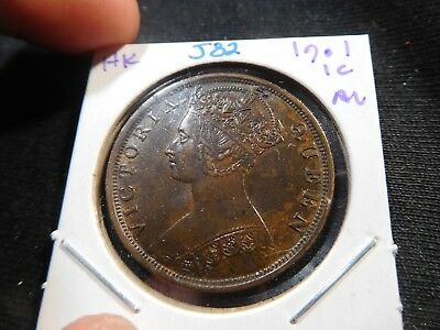 J82 Hong Kong 1901 Cent AU