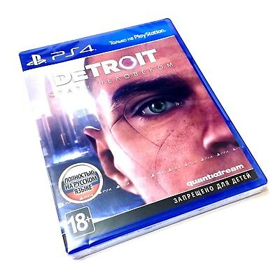 DETROIT BECOME HUMAN - PS4 (BRAND NEW & SEALED) RussianEnglish