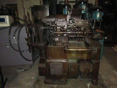 Brown & Sharpe Model OOG 6 Station Turret 3Ph Automatic Screw Machine