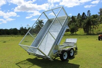 Delivery AU Wide 10x6 Tipper Trailer