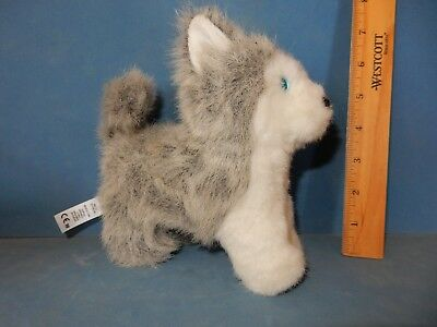 "American Girl Siberian Husky Pepper Plush 7"" Dog  Pose Able Excellent 2012"