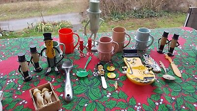 Large Collection Of Vintage Mr. PEANUT Items