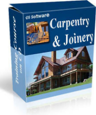Carpentry & Joinery Carpenter Training Course Manual PDF format on CD