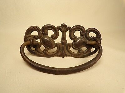 Vintage Antique Drawer Pull Handle Part Hardware Victorian Dresser Pull