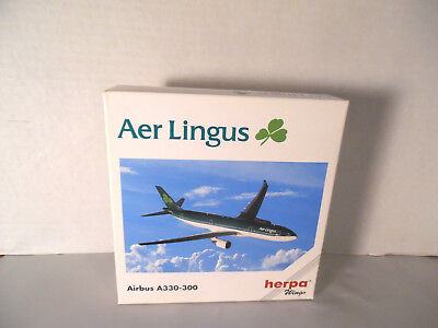 Herpa Collectible Airplane Aer Lingus Airbus A330-300