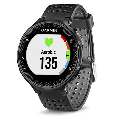 Garmin Forerunner 235 GPS Running Watch - Black and Gray Silicone (OPEN BOX)