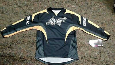 Girls Youth Large Offroad Jersey Butterflies Fox Atv Dirtbike Answer mx FLY
